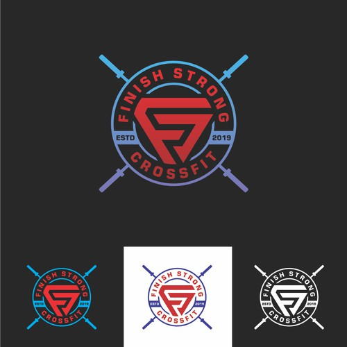 FINISH STRONG CROSSFIT LOGO