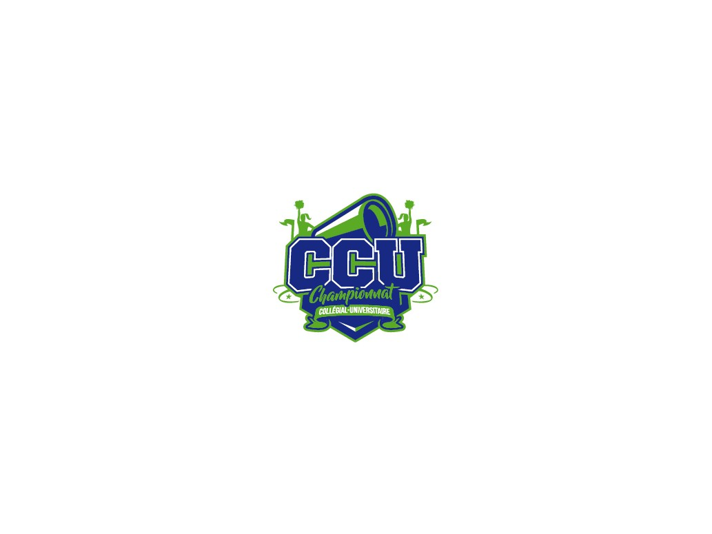 Cheerleading Competition Logo