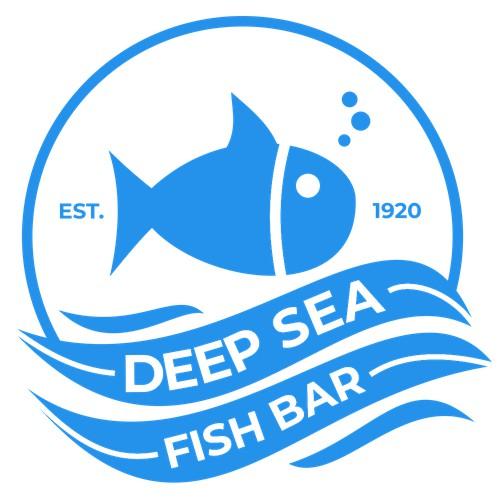 Modern logo concept for Deep Sea Fish Bar