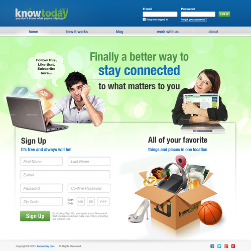 website design for knowtoday.com