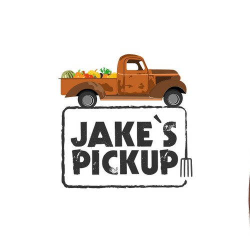 Create the logo for a new organic fast food chain!