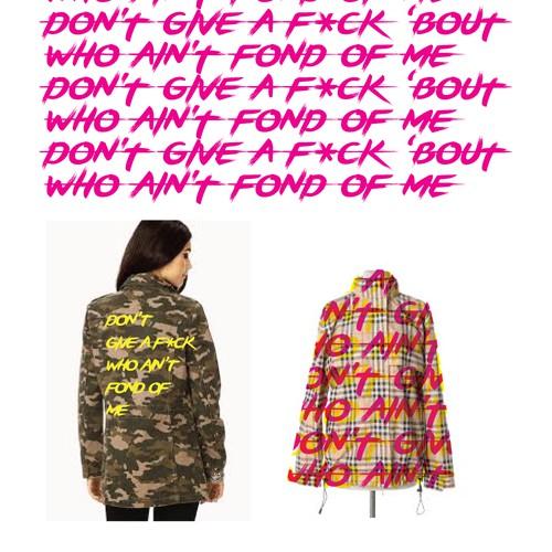Fun textile concept for street-wear