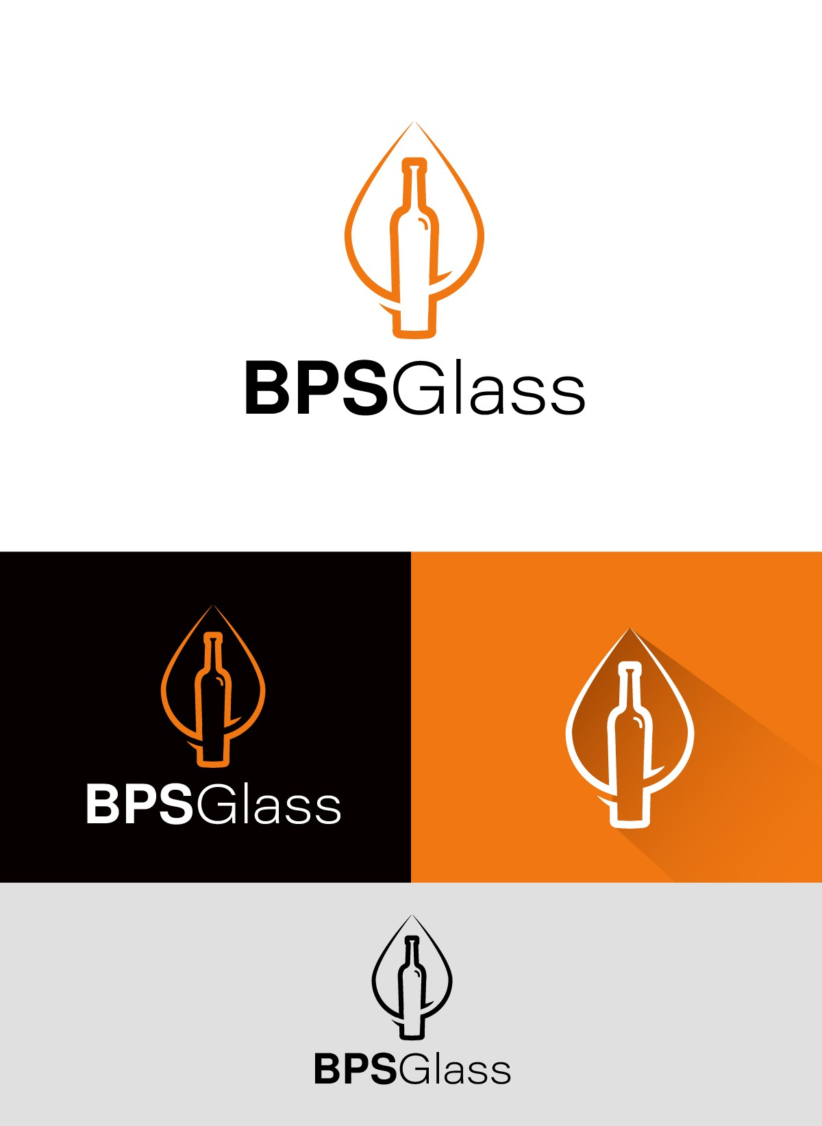 GLASS bottle distribution and SPIRITS DESIGN company need POWERFUL new logo