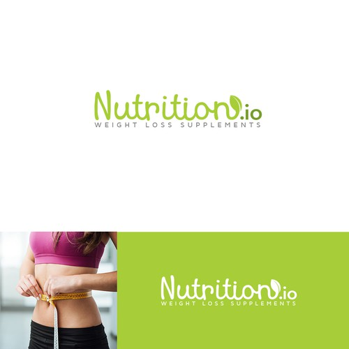 Logo concept for nutrition