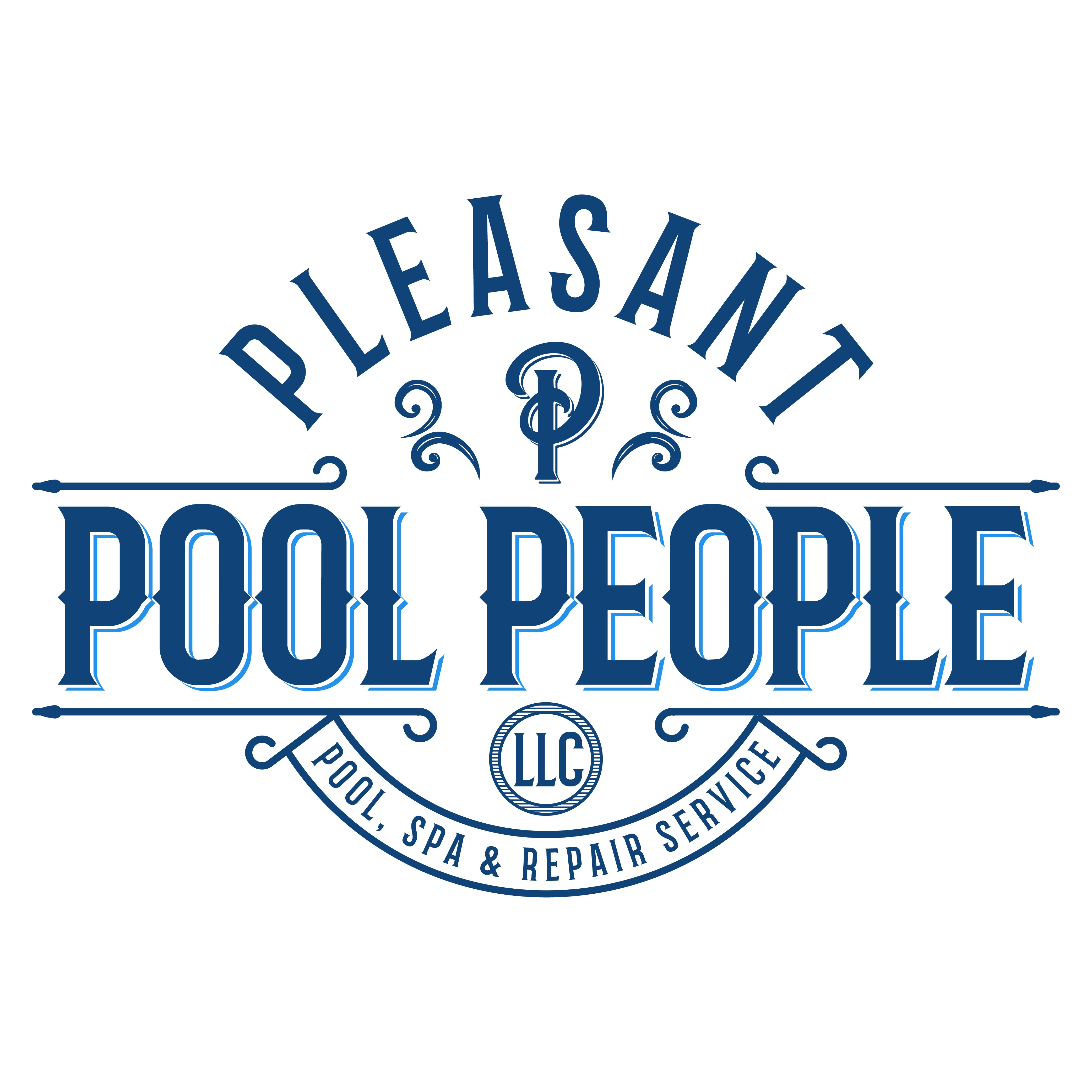 Pleasant Pool People, LLC need a new luxurious yet youthful logo