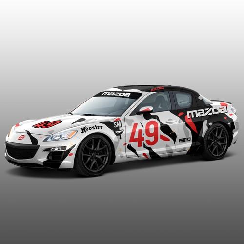 Design a winning race car wrap