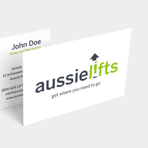 Logo for Aussie Lifts