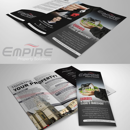 Real Estate Agency Brochure - winner will get to work with us on 3 other projects!