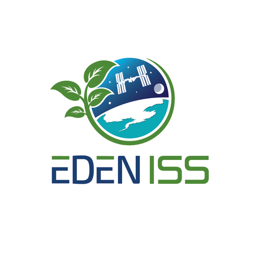 Logo for a project to send plants to the Antarctic and then to space