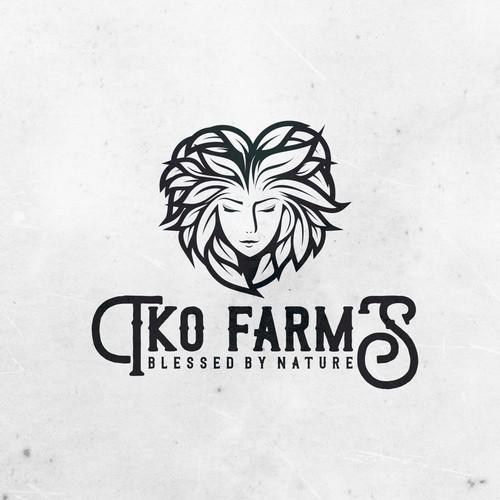 Logo design concept for TKO FARMS
