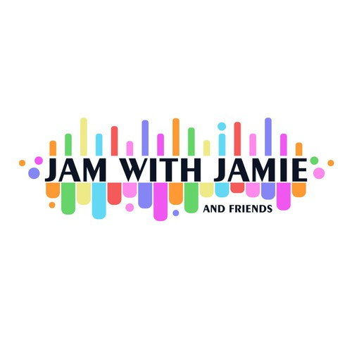 logo design for Jam with Jamie