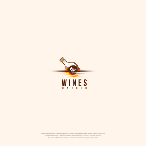 LOGO DESIGN FOR WINES UNTOLD