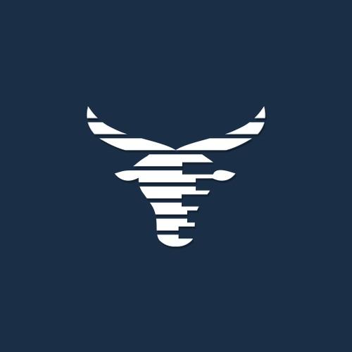Design a Bull logo for a Stock Market Newsletter and Website
