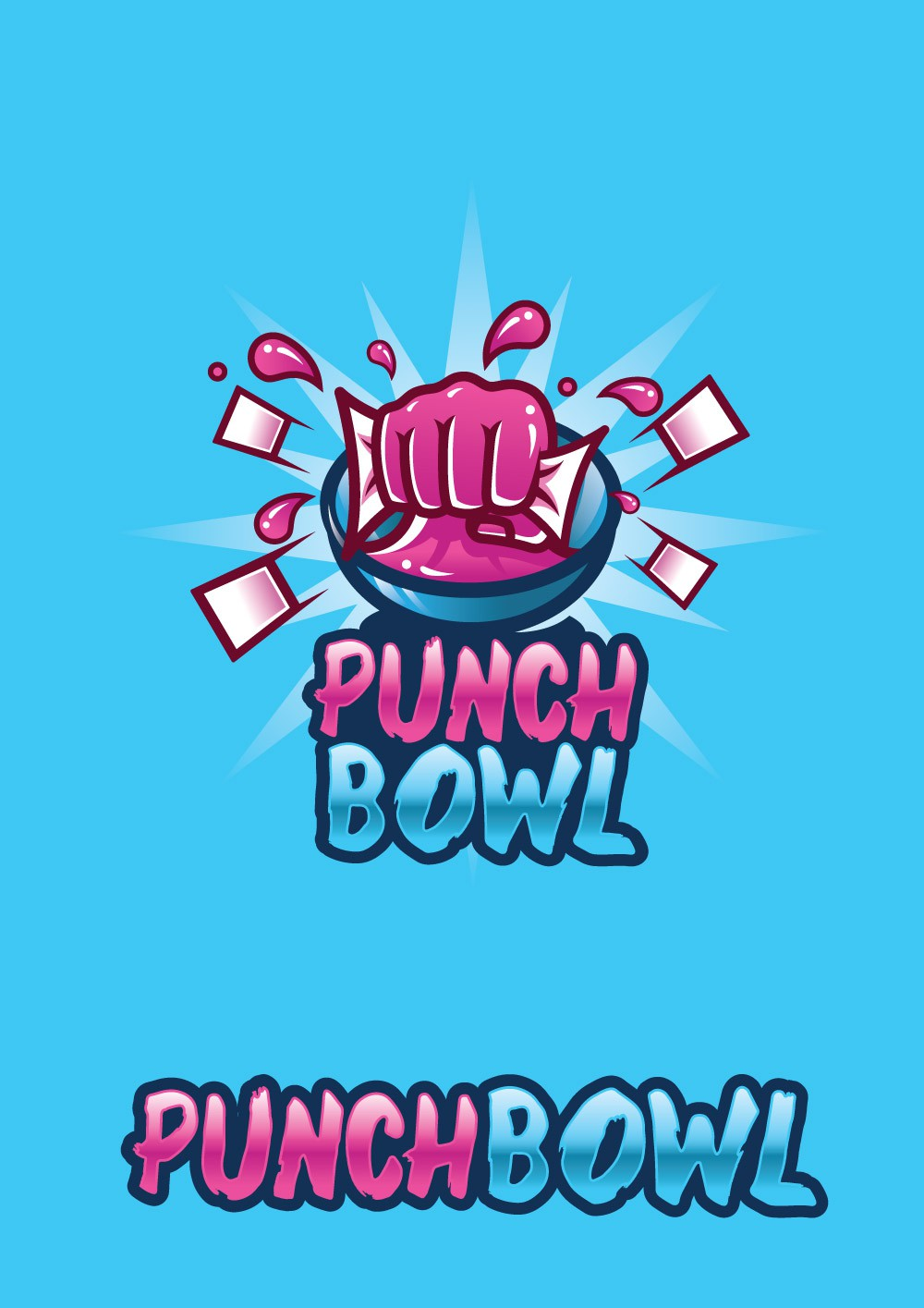 New card game with a PUNCH!