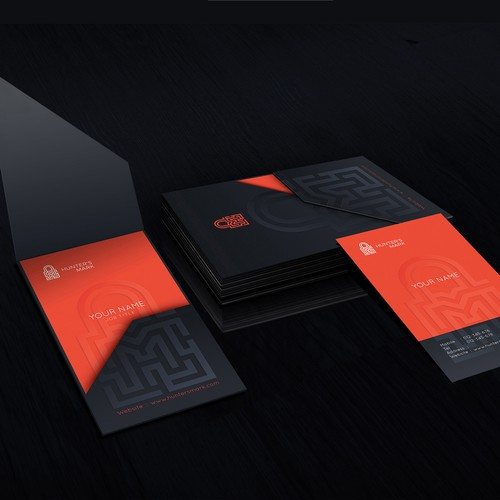 Brand identity for Cyber security consultancy
