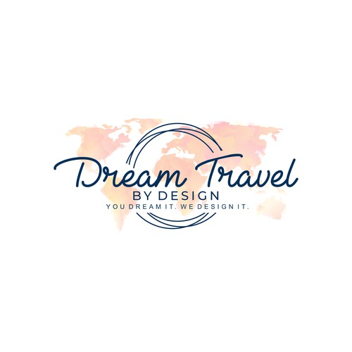 Design a sophisticated logo for a luxury travel agency.