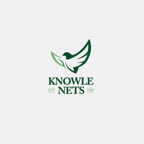 logo for a custom garden, bird and sports netting manufacturer