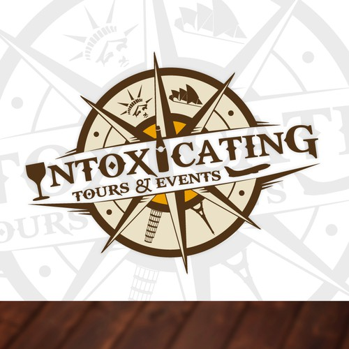 Help Intoxicating Tours and Events with a new logo