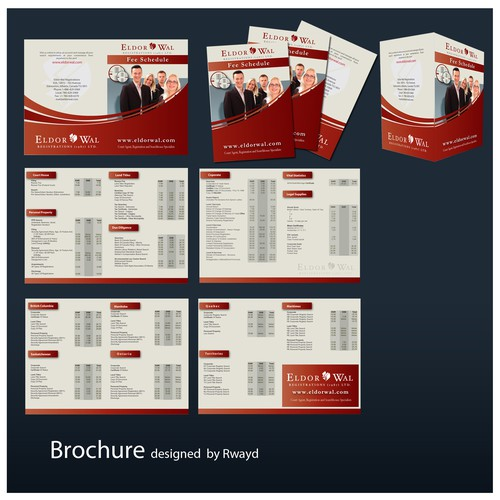 Pricing Brochure for Legal Company