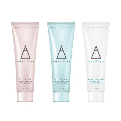 Minimal design for cosmetics company