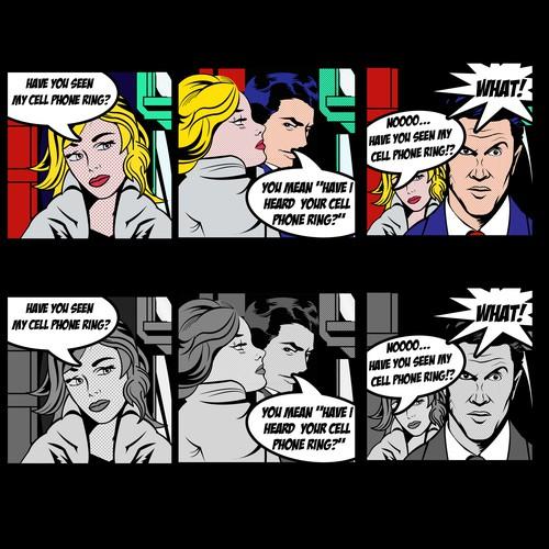 Comic Art Design