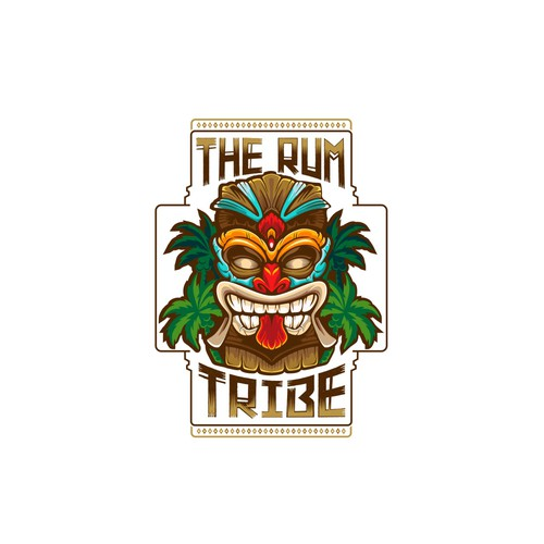 Logo Concept for The Rum Tribe