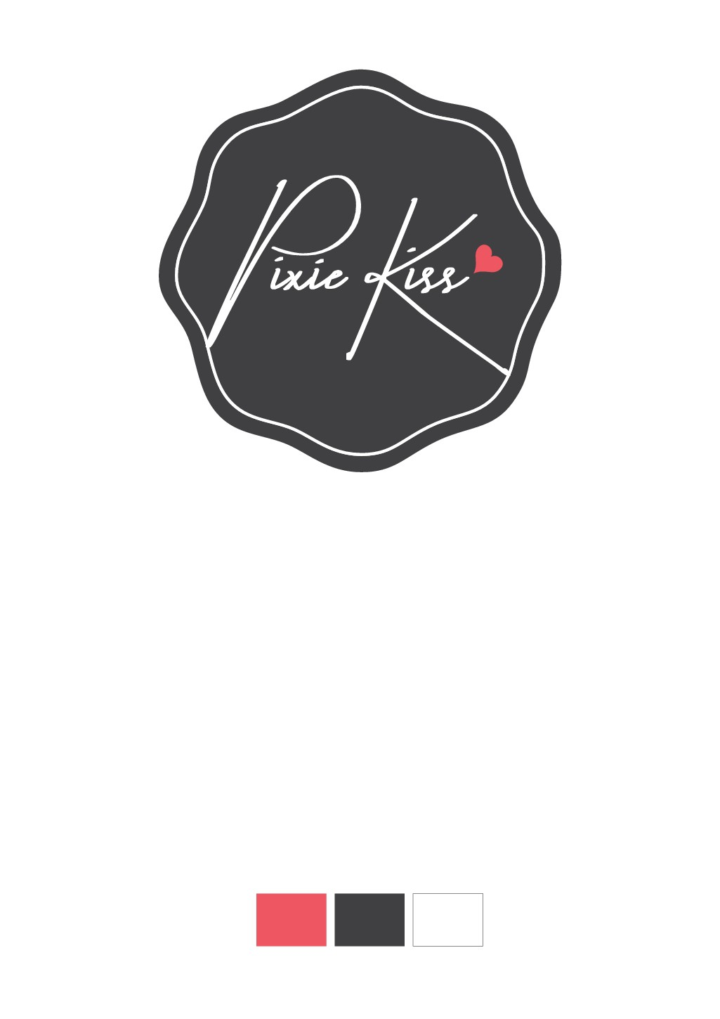 Cute and alluring logo for Pixie Kiss, please!