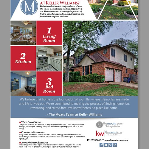 The Moats Team at Keller Williams Ad