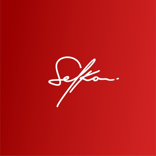 Signiture handwriten, elegant, and masculine logo design for buliding company