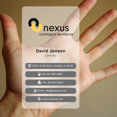 Create the next Logo and Stationery for Nexus contingent workforce