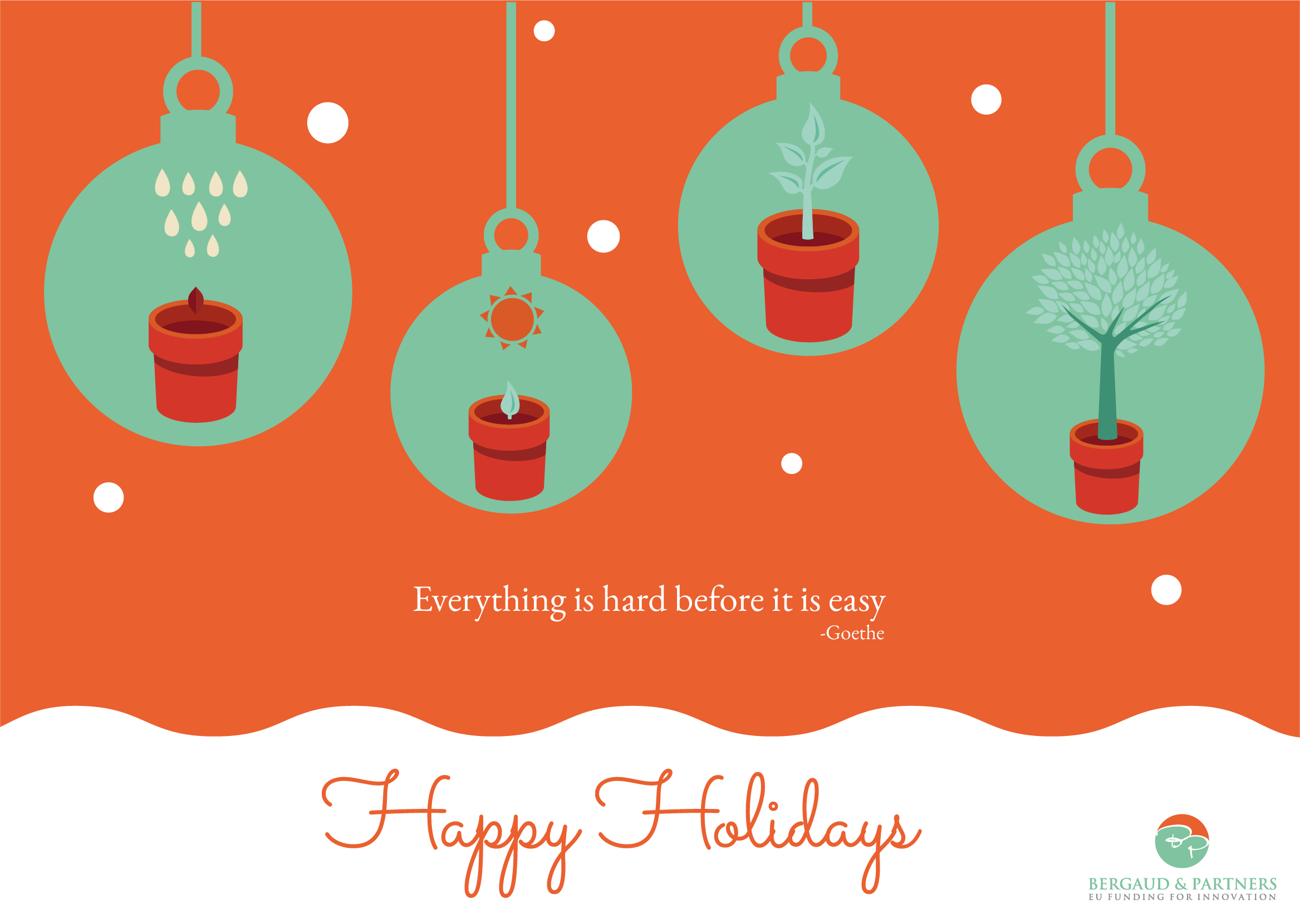 Design of a simple Christmas card