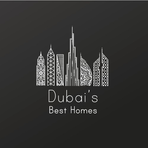Logo concept for real estate company.