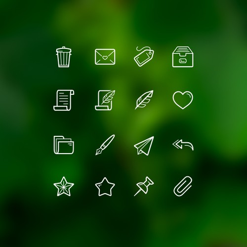 24 Awesome Messaging Icons
