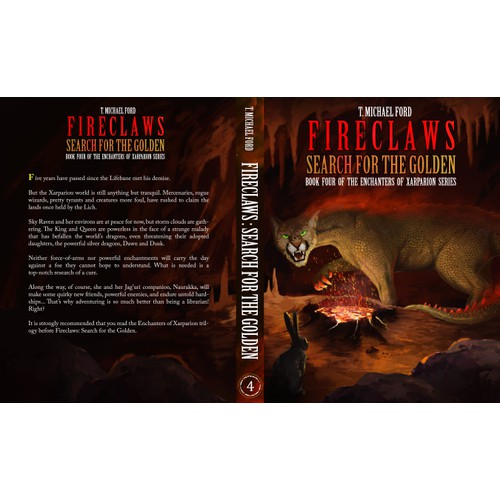 Fireclaws : Search for the Golden
