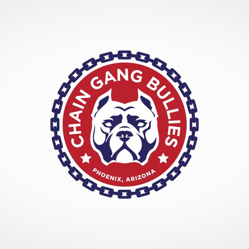 Logo design concept for Chain Gang Bullies