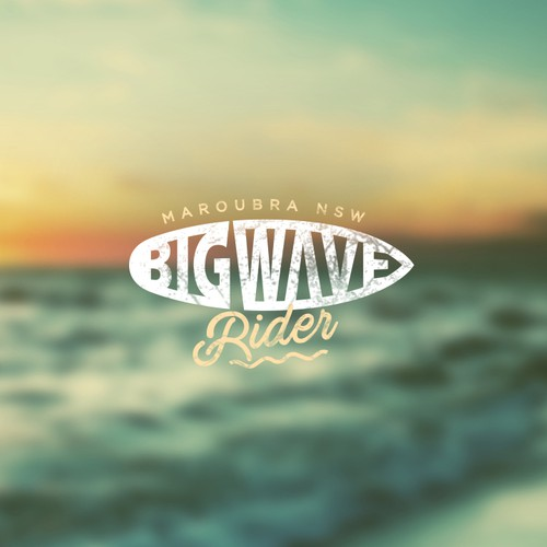 Design the logo and ride the wave with Big Wave Rider - the new Australian clothing line!