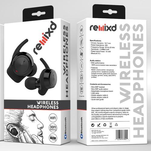 ReMixd Truly Wireless Earbuds