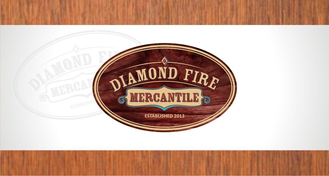 Diamond Fire Mercantile needs a new logo