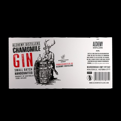 Chamomile Gin