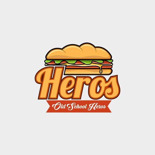 Bold Logo for Heros