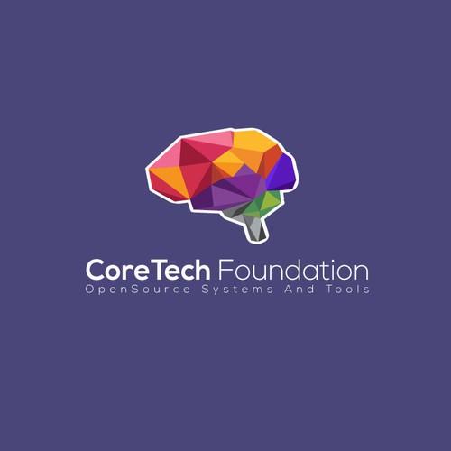 Logo & Website for CoreTech Foundation