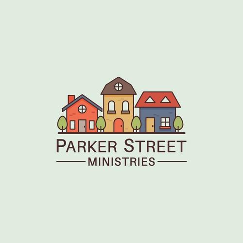 Simple House Neighbor Logo