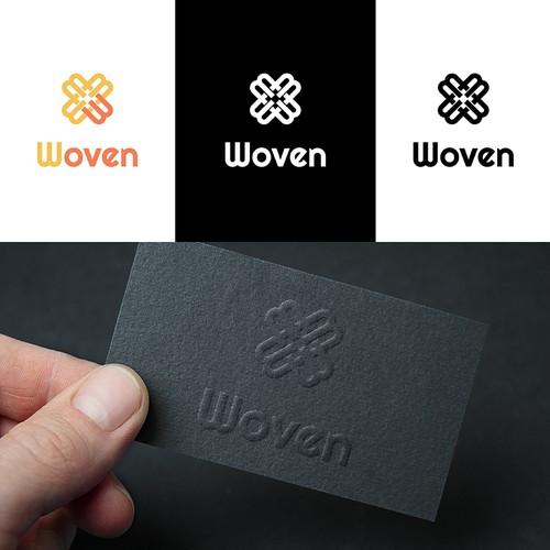 Woven logo concept