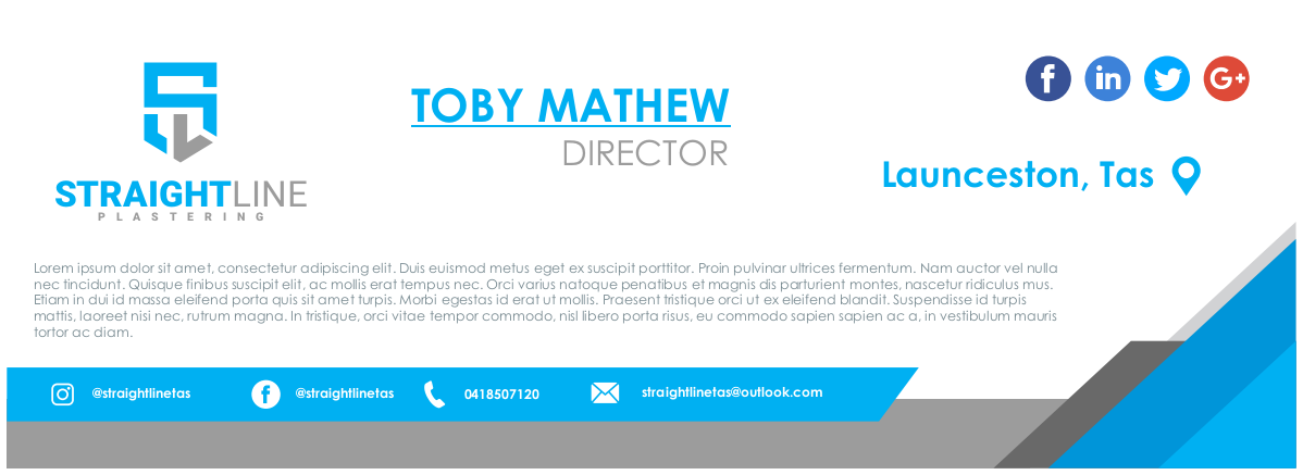 business cards, invoice and quote layout, Email signature