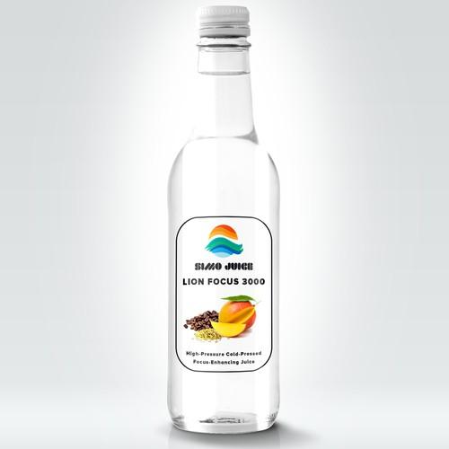 Simple Bottle Label