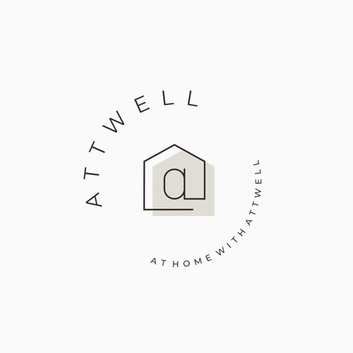 Logo concept for real estates professional