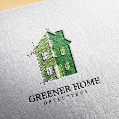 Greener home developers Logo winner