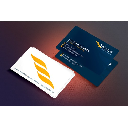 We help partners win. Help us win with a new business card design.