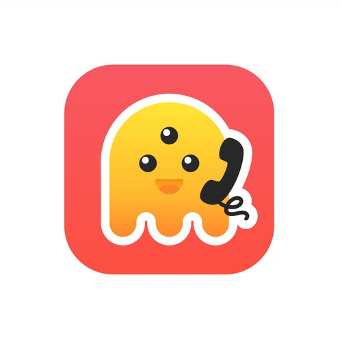 3rd Party Prank Call app icon concept