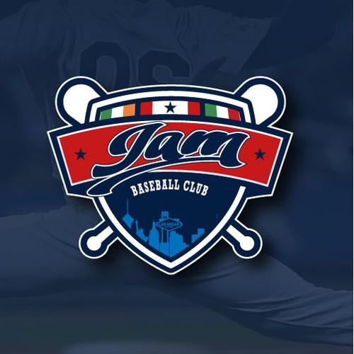Logo baseball for JAM Baseball Club